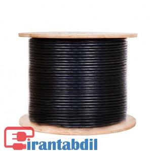 خرید عمده کابل شبکه,قیمت عمده کابل شبکه نگزنس اوت دور, قیمت همکاری کابل شبکه دو روکش مشکی