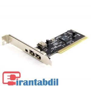 کارت کپچر 1394،تبدیل PCI TO 1394،کارت Ilink,کارت آیلینک