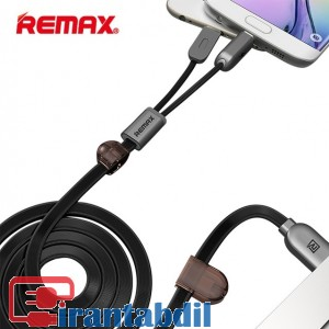 خرید عمده کابل شارژ گوشی مدل 025 ,قیمت عمده کابل شارژ گوشی ریمکس مگنتی دوکاره, قیمت کابل ریمکس remax twins rc025t