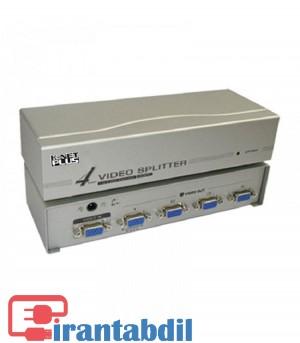 خرید عمده اسپلیتور 4 پورت VGA کی نت پلاس مدل KPS634