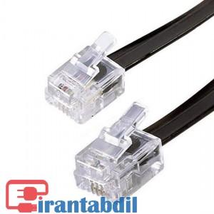 کابل تلفن بند خطی یک متر