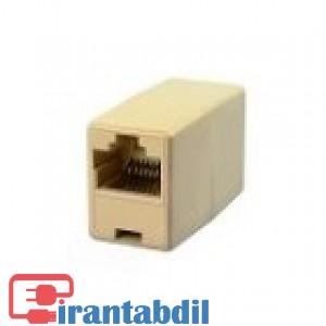 پخش عمده افزایش دهنده کابل شبکه RJ45 برند V-Net , مشخصات کوپلر شبکه RJ45  ,کوپلر شبکه وی نت