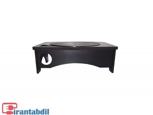 زیر مانیتوری چوبی آرمو چرخشی , قیمت پایه مانیتور armo 110+ , خرید عمده میز مانیتور چوبی