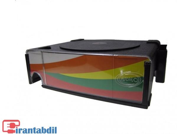 زیر مانیتوری پلاستیکی کشو دار , پایه مانیتور چرخشی آرمو , زیر مانیتوری کشو دار آرمو مدل 300
