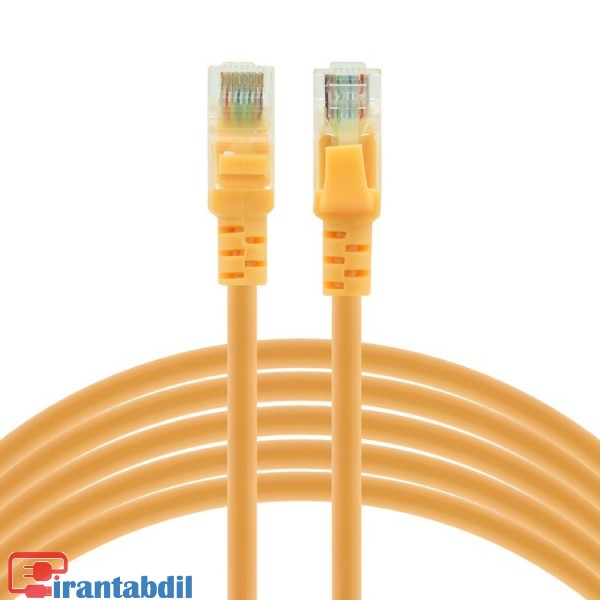 خرید آنلاین پچ کورد سی متری cat5e دی نت, خرید عمده کابل شبکه Cat5e سی متری دی نت,پچ کورد Cat5e سی متری دی نت