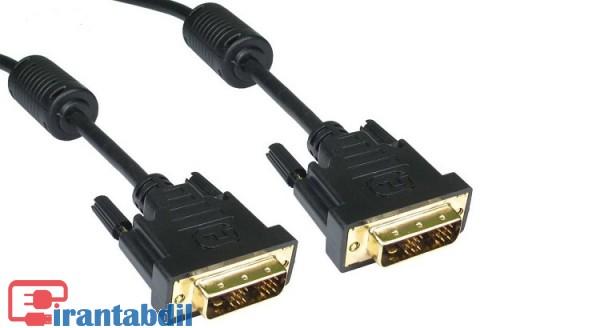 خرید عمده کابل DVI سه متری 1+24, خرید همکاری کابل DVI سه متری 1+24, فروش همکاری کابل دی وی آی سه متری