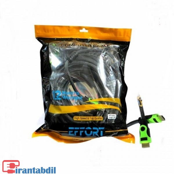 خرید عمده کابل HDMI یک ونیم متری ایفورت , خرید همکاری کابل HDMI یک ونیم متری ایفورت , فروش همکاری کابل اچ دی ام ای 1.5 متری ایفورت