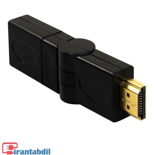 نر به ماده HDMI,افزایش طول HDMI,چپقی HDMI