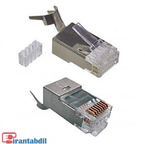 مشخصات سوکت شبکه cAT6کی نت پلاس ، سوکت شبکه CAT6A UTP مدل 1173کی نت پلاس، مورد استفاده در تجهیزات شبکه