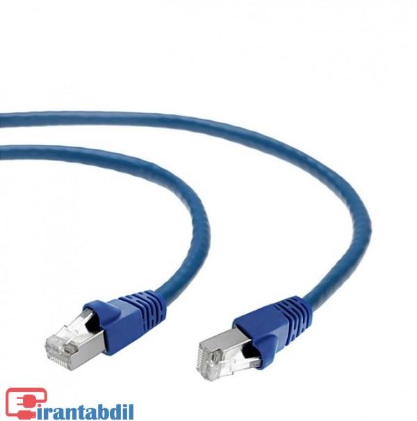 خرید عمده پچ کورد SFTP CAT6 پنج متری مارک کی نت,خرید آنلاین پچ کورد کت شش پنج متری کی نت,کابل با سوکت RJ45