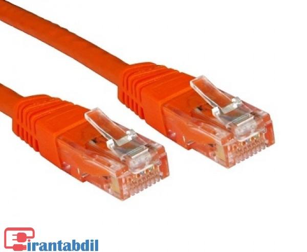 کابل شبکه 2متری دی نت,کابل CAT6 dnet 2m,پچ کورد شبکه کت 6 دی نت