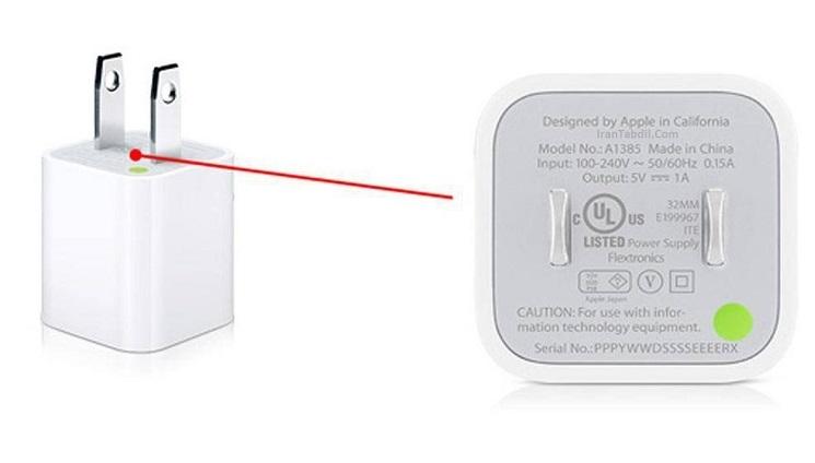 تشخیص شارژر اصل از تقلبی آیفون
