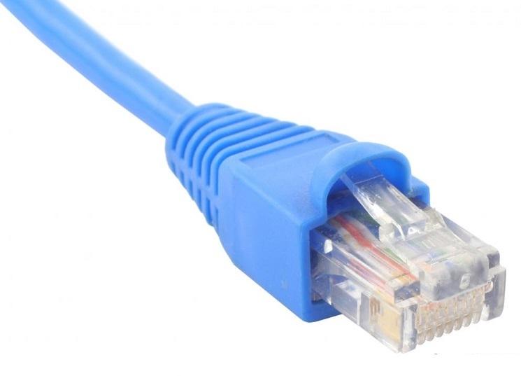 کابل شبکه سوکت خورده