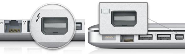 مینی دیسپلی پورت,خروجی تصویر اپل,تاندر بولت