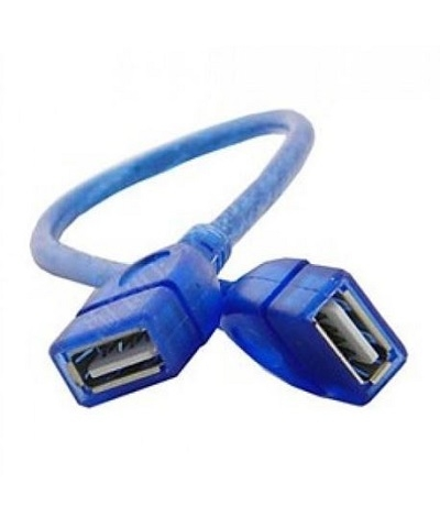 D-Net Usb Female to Female Cable 30cm