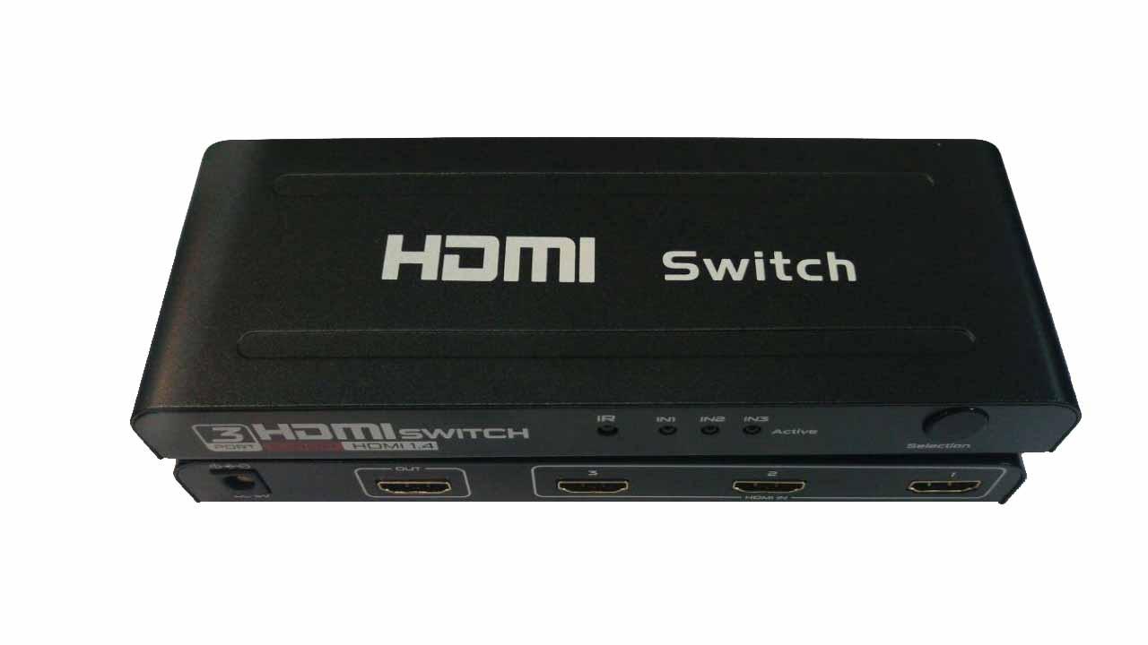 سوئیچ اچ دی ام ای,اتصال چند تصویر به یک تلویزیون,هاب hdmi